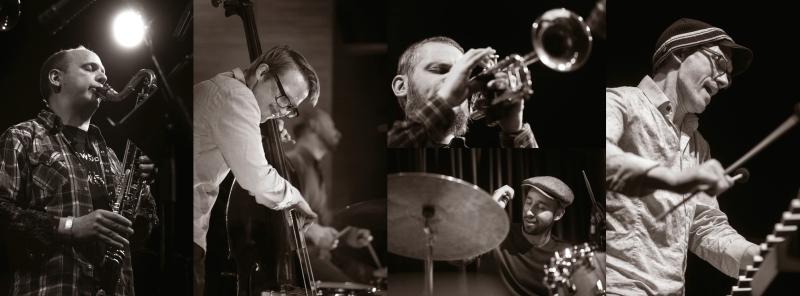 Nate Wooley Quintet bw by Ziga Koritnik